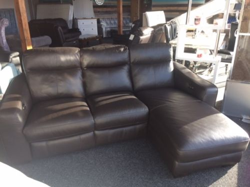 cressida leather power recliner lounger sofa