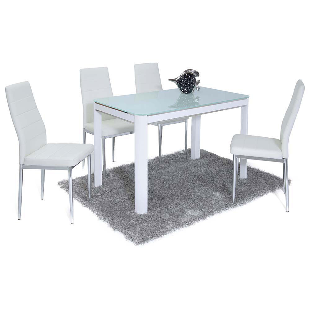 Affordable Furnishings: Moranco Dining Table Plus 4 Chairs